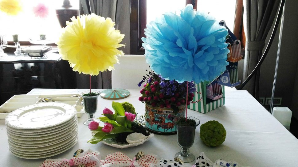 Ami Modi Baby shower – Amy Modi Baby Shower floral decoration – Spree Designs