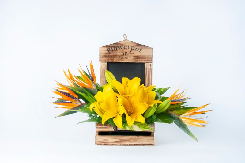 Yellow Flower Bouquet - Spree Designs