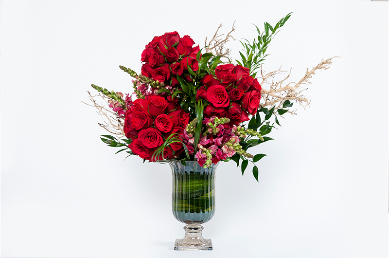 red rose Flower Bouquet - Spree Designs