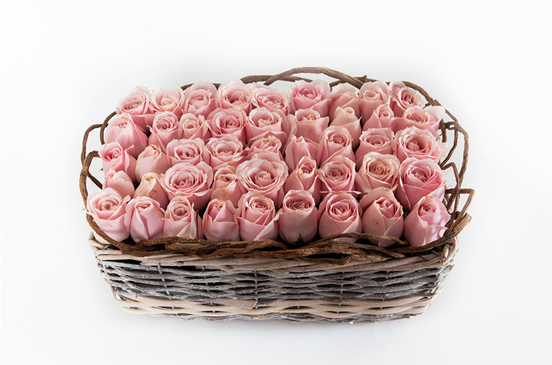Pink rose Flower Bouquet - Spree Designs