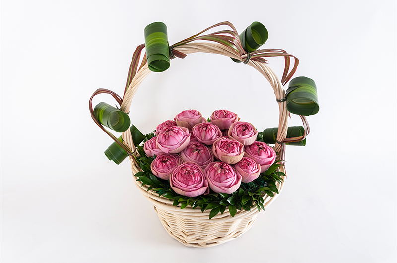 Pink Flower Bouquet - Spree Designs