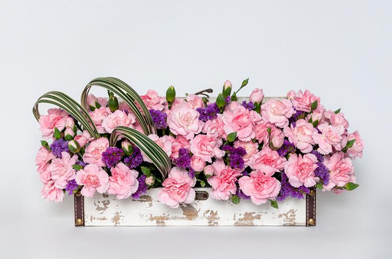 Pink Flower Bouquet - Spree Designs